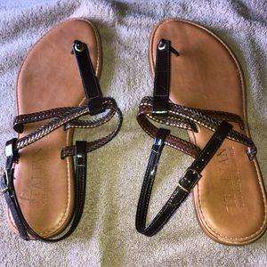 Shoes - Slings size 8.5. Black/dark brown